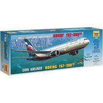 Avion Zvezda Boeing 767 300 1/144 Armar Pintar / No Revell