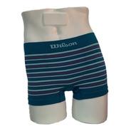 Wilson Boxer Algodón Lycra Sin Costura Talle Especial Xxl