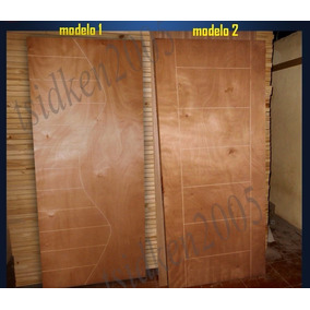 Puertas De Madera Entamborada Con Diseño Para Cuartos 80x210
