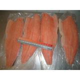 Llego Filete Salmon Sin Espinas Con Piel Congelado