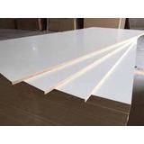 Placa Melamina Blanca Sobre Mdf 18mm 1,83 X 2,75 Mts