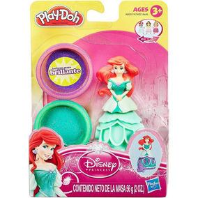Conjunto Massinhas Playdoh Princesas Disney - Ariel
