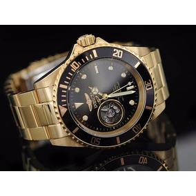 4176d6d560f Rosè Novo! Lindo! Original!! Invicta Pro Diver 1775 Prata - Relógios ...
