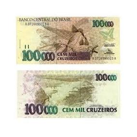 Oferta Cedulas De 100.000 500.000 50.000 1.000 200 Cruzeiro