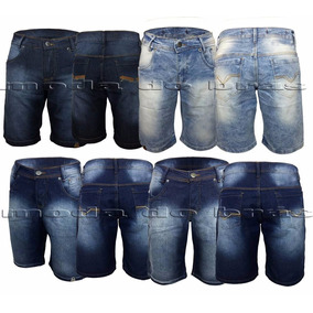 Bermuda Jeans Masculina Com Lycra Plus Size Do 36 Ao 54!