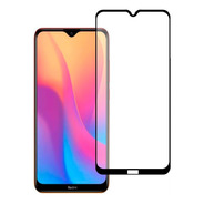 Mica Cristal Templado 10d 9d Marco Negro Modelos Xiaomi