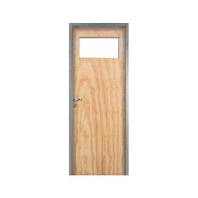 Puerta Placa Cedro 70 Mch10 Izquierda P/baño