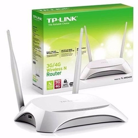 Router Wifi Tp-link Mr3420 Para Modem Usb 3g/4g 300mbps