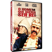 O Homem Que Queria Ser Rei - Dvd - Connery - Caine - Huston