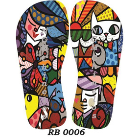 Chinelo Personalizado - Romero Britto Rb0006
