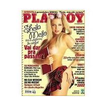 Revista Playboy Sheila Mello Nº 318 Janeiro 2002