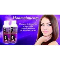 Mantenimiento.shampoo Y Mascarilla.sin Sal Con Keratina.250m