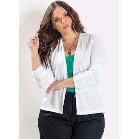 Blusa De Frio Casaquinho Plus Size | Grande Tamanhos