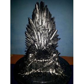 Trono De Ferro-game Of Thrones-iron Throne, Artesanal, 25 Cm
