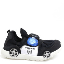 Tênis Bibi Carro Com Luz Polícia Infantil 969003 | Zariff