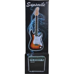 Paquete De Guitarra Electrica Mod. Js31sst Marca Sunsmile