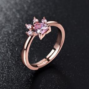 22ce6ec5a1b78 Anel De Coração Prata Com Swarovski Rosa 2 Hearts - Anéis com o ...