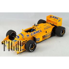 Autoart Ayrton Senna Camel Lotus Honda 99t Año 1987 Esc 1/18