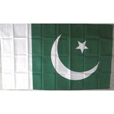 Bandera República Islámica De Pakistán 1.50x 90mt Islamabad