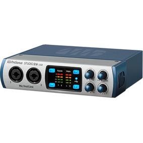 Presonus Studio 26 Usb Interface Placa Audio Midi