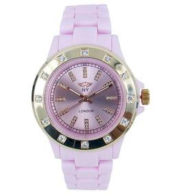Reloj Con Cristales, Ocean Heart 11n-13-43