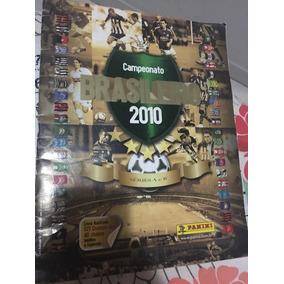 Álbum Campeonato Brasileiro 2010 Incompleto