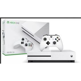 Xbox One S Novo Na Caixa Com Jogo De Brinde