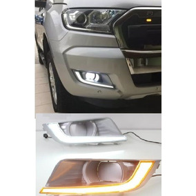 Drl Milha Ford Ranger 2017/18 C/ Seta Xl Xls Xlt Limited Mul