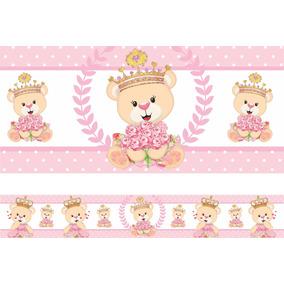 Kit 13 Faixa Decorativa Adesivo Border Infantil Bebe Menina