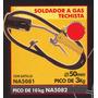 Soldador A Gas Techista Pico De 3kg Black Jack Na5081