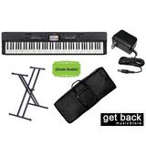 Combo Piano Casio Privia Px 360 Funda Soporte Fuente Envio