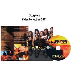 Dvd Scorpions - Video Collection 2011