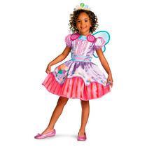 Disfraz Niña Candyland Dulce Dulces Talla 4 A 6 Años