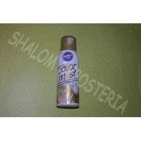 *spray Comestible Dorado Color Mist Wilton Pastel Fondant*