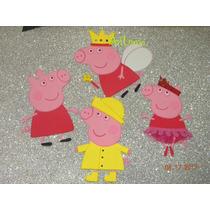 Figuras De Goma Eva Pepa Pig 20 Cm