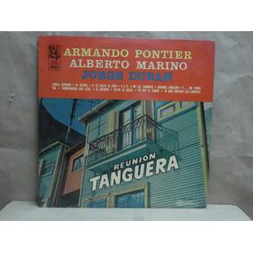 Pontier Marino Duran Lp Vinilo Reunion Tanguera Rca Camden