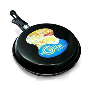 Sarten Doble Omeletera 24 Cm Antiadherente Teflon Guadix 155