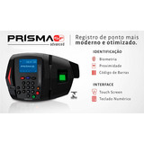 Relogio De Ponto Biometrico Prisma Advance+inmetro+software