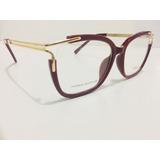 cf3baa832b32b Oculos Da Chloe Armação Para Grau Variados Tendencia -cl300
