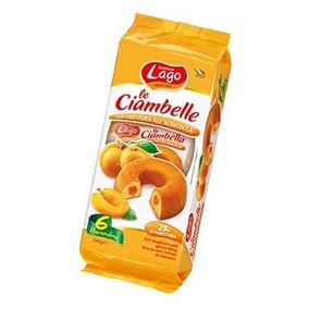 Ciambelle (rosquillas) Rellenas Con Mermelada De Durazno