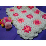 Manta-cubrecuna Tejida A Crochet Artesanales