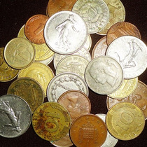 Lote De Monedas 30 Extranjeras 30 Monedas
