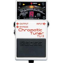 Pedal Afinador Boss Tu3 Chromatic Tuner Para Guitarra Violão