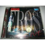 Cd Eros Ramazzotti - Eros Live* Fotos Reais Do Produto