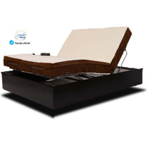 Colchon Queen Con Memory Foam Y Base D Cama Ajustable