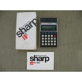 Sharp Calculadora El-8131 Com Manual E Caixa Raridade