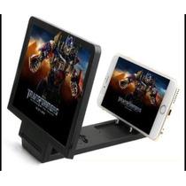 Lupa Ampliador Proyector Celular Pantalla 3d Soporte Video