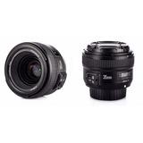 Boxstore - Lente Yongnuo 35mm F/2 Para Nikon Luminoso