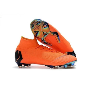 Chuteira Nike Mercurial Trava De Ferro - Chuteiras Nike de Campo ... bd2564a02f507