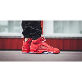 Air Jordan 5 rojas